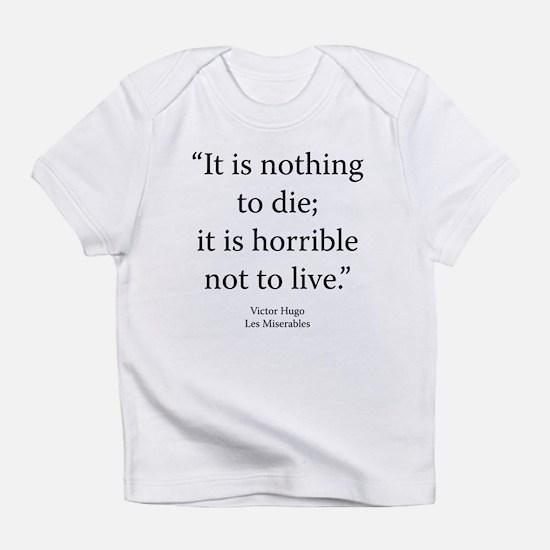 Les Miserables V5 Bk9 Ch5 Infant T-Shirt
