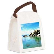 Lake Tahoe Canvas Lunch Bag