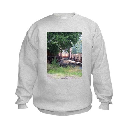 Train On a Bridge, N.S. RR Kids Sweatshirt