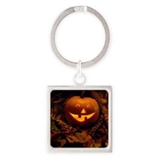 Boo to you! Square Keychain