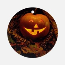 Boo to you! Round Ornament