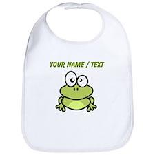 Custom Funny Cartoon Frog Bib
