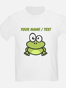 Custom Funny Cartoon Frog T-Shirt