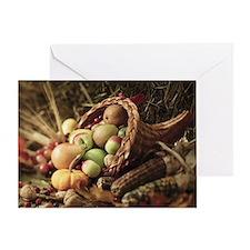 A bountiful harvest Greeting Card