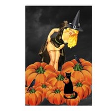 Halloween Pin up Postcards (Package of 8)