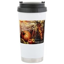 Abundant blessings at Harvest t Travel Mug