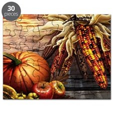 Abundant blessings at Harvest time Puzzle