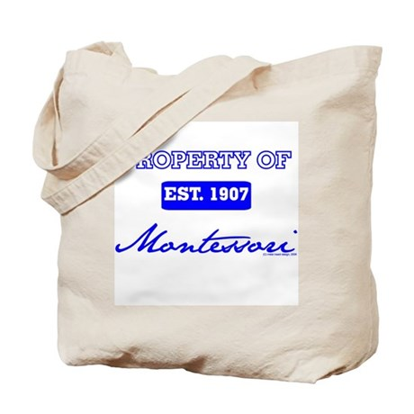 Property Of (blue) Tote Bag