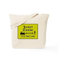 3 Feet Please Tote Bag