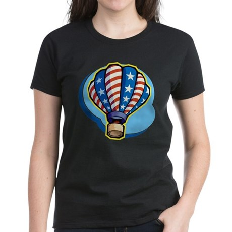 Hot Air Balloon Women's Dark T-Shirt