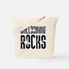 Ballooning Rocks Tote Bag