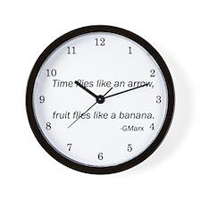 Matt's Office Clock Marx Quote