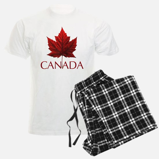 Canada Flag Maple Leaf Pajamas