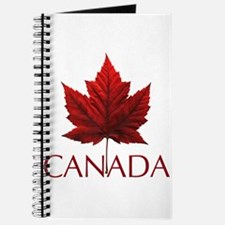 Canada Flag Maple Leaf Journal