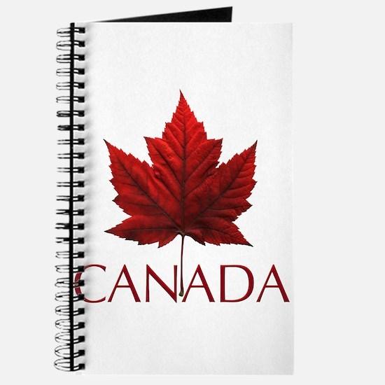 Canada Flag Maple Leaf Journal