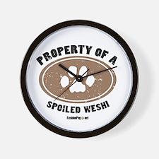 Weshi dog Wall Clock
