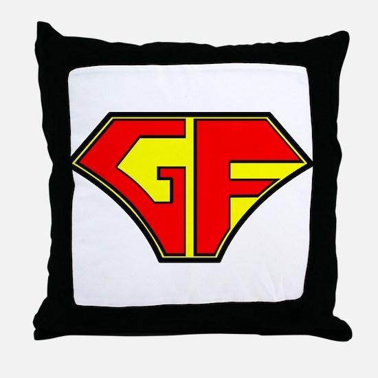 Super Gluten Free Throw Pillow