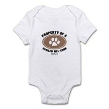 Wel-Chon dog Infant Bodysuit