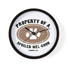 Wel-Chon dog Wall Clock