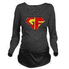 Super Gluten Free Long Sleeve Maternity T-Shirt