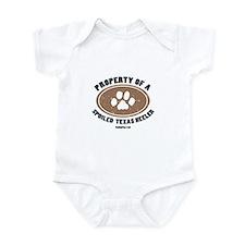Texas Heeler dog Infant Bodysuit
