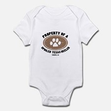 Texas Heeler dog Infant Bodysuit