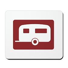 Caravan Site, UK Mousepad