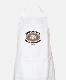 Taco Terrier dog BBQ Apron