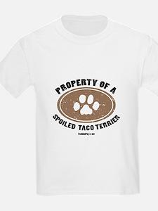 Taco Terrier dog Kids T-Shirt