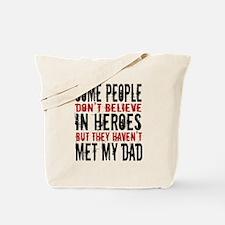 Hero Dad Tote Bag