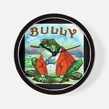 Bully Frog Wall Clock