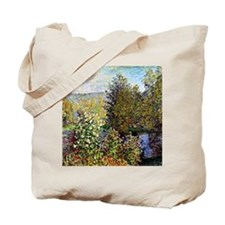 Monet: A Corner of the Garden at Montgero Tote Bag