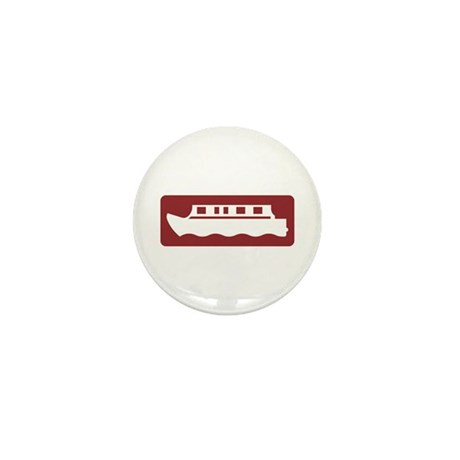 Canal-side Attraction, UK Mini Button (100 pack)