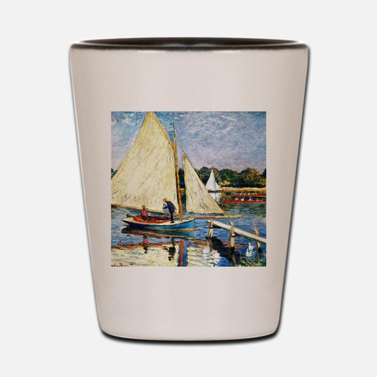 Monet: Boaters at Argenteuil Shot Glass