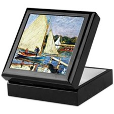 Monet: Boaters at Argenteuil Keepsake Box