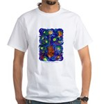 Starry Mandolin White T-Shirt