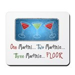 One Martini Mousepad
