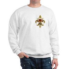 Monogram H Fleur de lis Sweatshirt