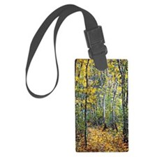 Claude Monet art: Wood Lane Luggage Tag