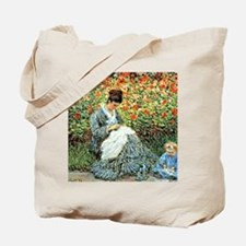 Camille Monet and Child Tote Bag
