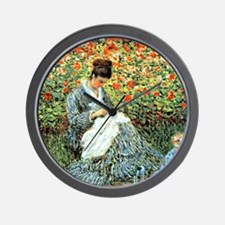 Camille Monet and Child Wall Clock