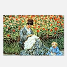 Camille Monet and Child Postcards (Package of 8)