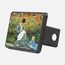 Camille Monet and Child Hitch Cover