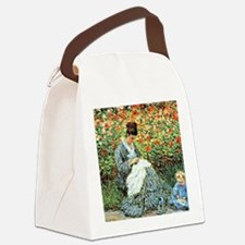Camille Monet and Child Canvas Lunch Bag