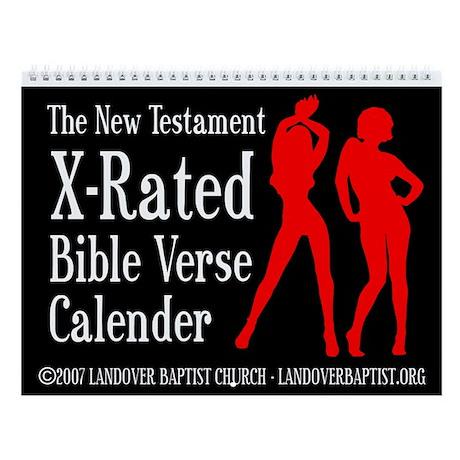 The 2011 X-Rated Bible Verse Calendar