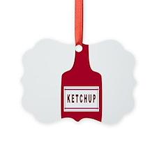 Ketchup Bottle Ornament