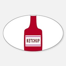 Ketchup Bottle Decal