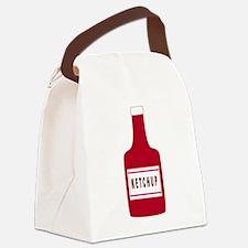 Ketchup Bottle Canvas Lunch Bag