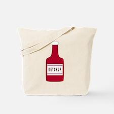 Ketchup Bottle Tote Bag