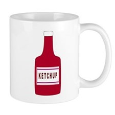 Ketchup Bottle Mugs